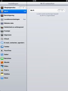 Apple The New iPad - WiFi - Handmatig instellen - Stap 4