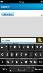 BlackBerry Z10 - Contact, Appels, SMS/MMS - Envoyer un MMS - Étape 9