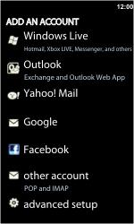 LG E900 Optimus 7 - E-mail - Manual configuration - Step 6