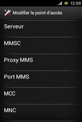 Sony ST23i Xperia Miro - MMS - configuration manuelle - Étape 11