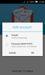 Huawei Y3 - E-mail - Manual configuration (gmail) - Step 7