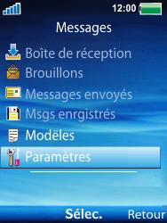 Sony W100i Spiro - Messagerie vocale - Configuration manuelle - Étape 5