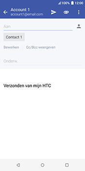 HTC u12-plus - E-mail - Bericht met attachment versturen - Stap 8