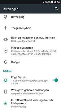 HTC U11 - Resetten - Fabrieksinstellingen terugzetten - Stap 4