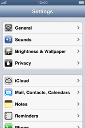 Apple iPhone 3GS - Software - Installing software updates - Step 5