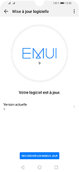 Huawei Y6 (2019) - Aller plus loin - Mettre à jour le logiciel interne de votre mobile - Étape 6