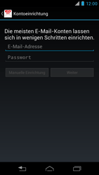 Motorola XT890 RAZR i - E-Mail - Konto einrichten - Schritt 5