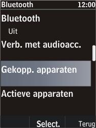 Nokia C2-05 - bluetooth - headset, carkit verbinding - stap 6