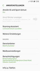 Samsung Galaxy A5 (2017) - Android Oreo - Anrufe - Rufumleitungen setzen und löschen - Schritt 7