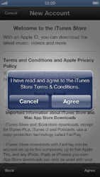 Apple iPhone 5 - Applications - setting up the application store - Step 7