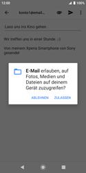 Sony Xperia XZ2 Compact - E-Mail - E-Mail versenden - 11 / 18