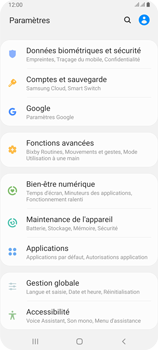 Samsung Galaxy A80 - Applications - Supprimer une application - Étape 4