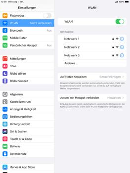 Apple iPad Mini 4 - ipados 13 - WiFi - WiFi-Konfiguration - Schritt 5