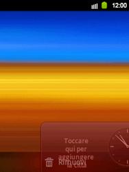 Samsung Galaxy Y - Operazioni iniziali - Installazione di widget e applicazioni nella schermata iniziale - Fase 6
