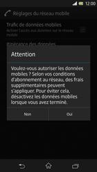Sony Xperia Z - Internet et roaming de données - Configuration manuelle - Étape 7