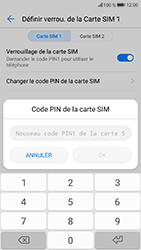Honor 9 - Sécuriser votre mobile - Personnaliser le code PIN de votre carte SIM - Étape 9