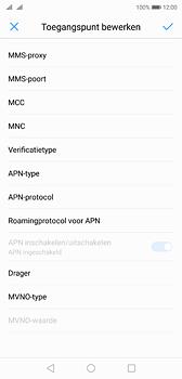 Huawei P20 - MMS - Handmatig instellen - Stap 12