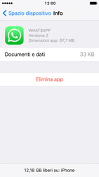 Apple iPhone 5s iOS 10 - Applicazioni - come disinstallare un