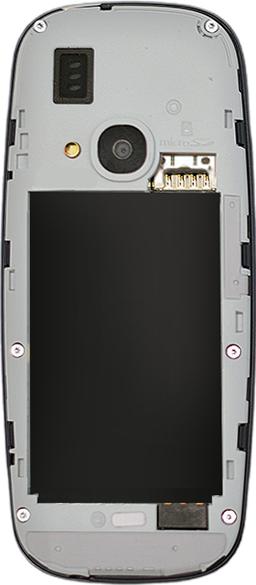 Nokia 3310 - SIM-Karte - Einlegen - 3 / 9