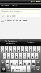 HTC X515m EVO 3D - E-mail - Configuration manuelle - Étape 5