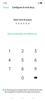 Oppo Find X2 Lite - Sécuriser votre mobile - Activer le code de verrouillage - Étape 7