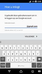 Sony Xperia X (F5121) - Android Nougat - Applicaties - Account aanmaken - Stap 11