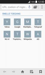 Samsung Galaxy J1 - internet - hoe te internetten - stap 3