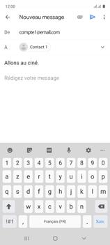 Samsung Galaxy A51 - E-mails - Envoyer un e-mail - Étape 9