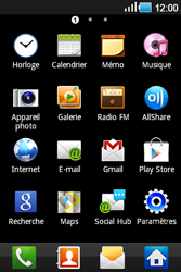 Samsung S5830 Galaxy Ace - E-mail - envoyer un e-mail - Étape 2