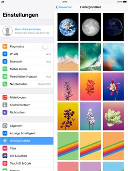 Apple iPad Pro 9.7 inch - iOS 11 - Hintergrund - 6 / 8