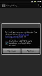 Sony Xperia S - Apps - Herunterladen - Schritt 5
