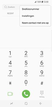 Samsung Galaxy S8 (G950) - Voicemail - Handmatig instellen - Stap 5