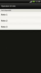 HTC One S - Rete - Selezione manuale della rete - Fase 9