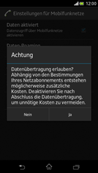 Sony Xperia V - Internet und Datenroaming - Manuelle Konfiguration - Schritt 7