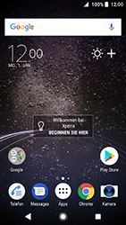 Sony Xperia XA2 - E-Mail - Konto einrichten - 1 / 25
