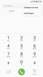 Samsung Galaxy A3 (2016) - Android Nougat - voicemail - handmatig instellen - stap 5