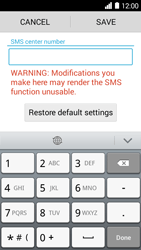 Huawei Ascend Y530 - SMS - Manual configuration - Step 6