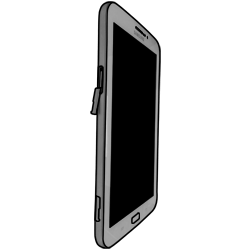 Samsung T211 Galaxy Tab 3 7-0 - SIM-Karte - Einlegen - Schritt 4