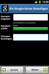 Samsung Galaxy Ace - Apps - Konto anlegen und einrichten - 11 / 22