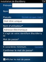 BlackBerry 9810 Torch - BlackBerry activation - BlackBerry ID activation - Étape 8