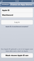 Apple iPhone 5 - Applicaties - Account instellen - Stap 4