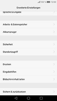 Huawei P9 Plus - Fehlerbehebung - Handy zurücksetzen - Schritt 7