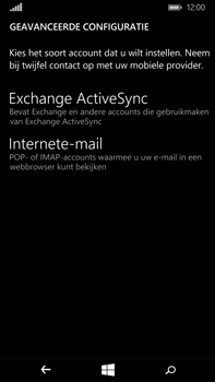 Microsoft Lumia 640 XL - e-mail - handmatig instellen - stap 9