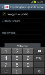 Samsung I8730 Galaxy Express - E-mail - Handmatig instellen - Stap 14