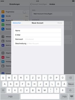 Apple iPad Air - E-Mail - Konto einrichten - 8 / 28