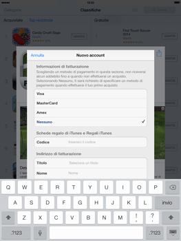 Apple iPad mini iOS 7 - Applicazioni - Configurazione del negozio applicazioni - Fase 18