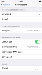 Apple iPhone 6s - E-mail - Account instellen (IMAP zonder SMTP-verificatie) - Stap 23