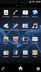 Sony ST25i Xperia U - E-mail - e-mail versturen - Stap 2