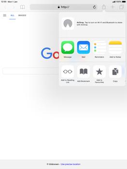 Apple iPad Mini 3 - iOS 12 - Internet - Internet browsing - Step 16