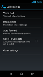 HTC Desire 310 - Voicemail - Manual configuration - Step 7